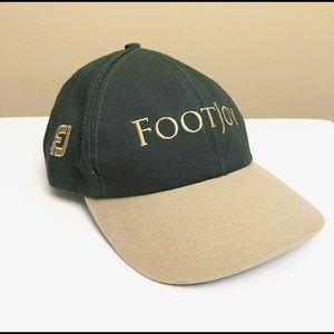Footjoy Adustable Golf Cap Hat Olive Green